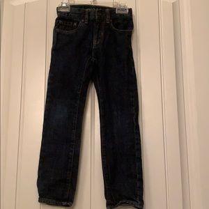 2 pair Boys GAP 6 slim jeans
